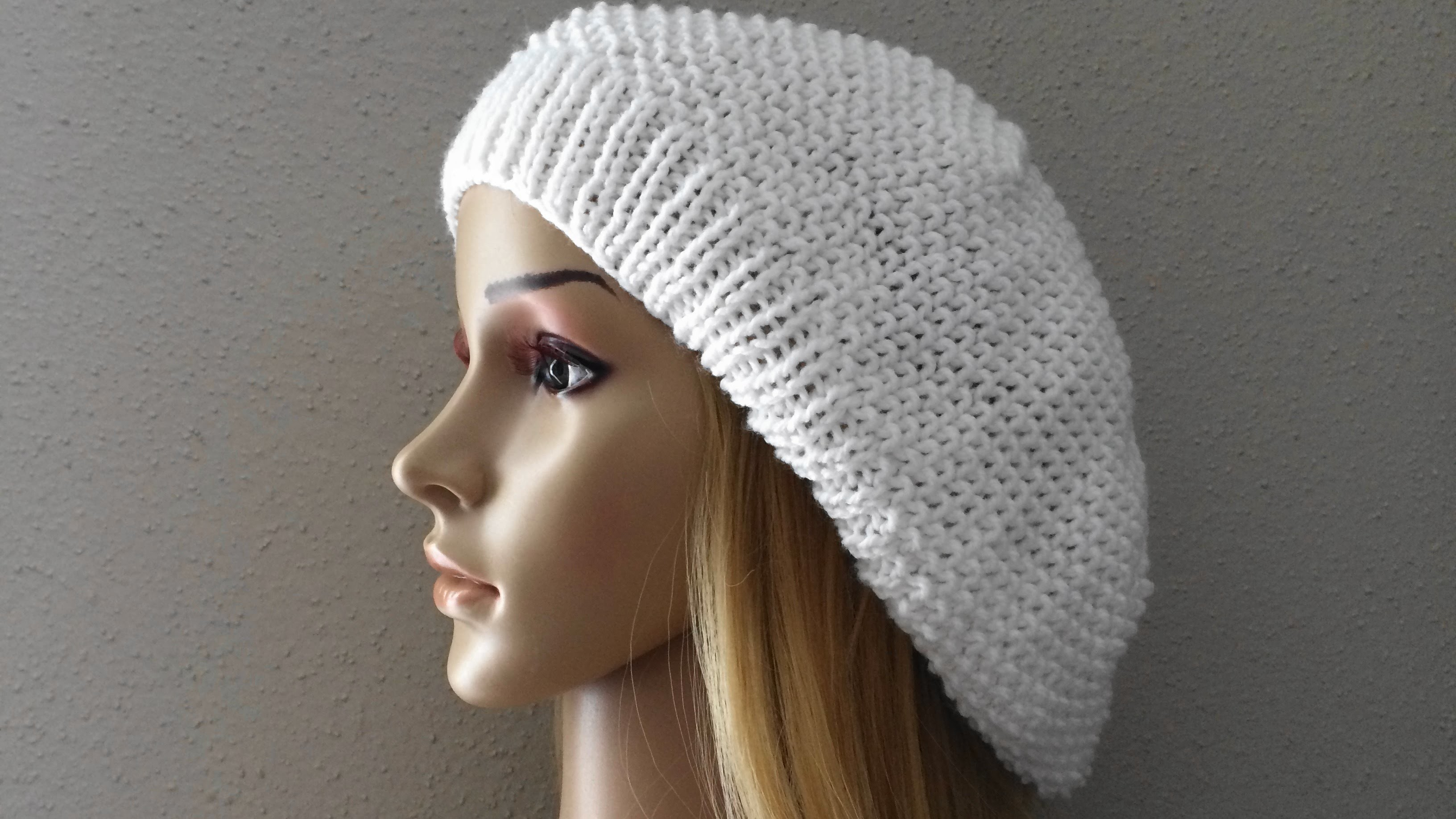 How To Knit A Slouchy Hat, Lilu's Knitting Corner Video # 22