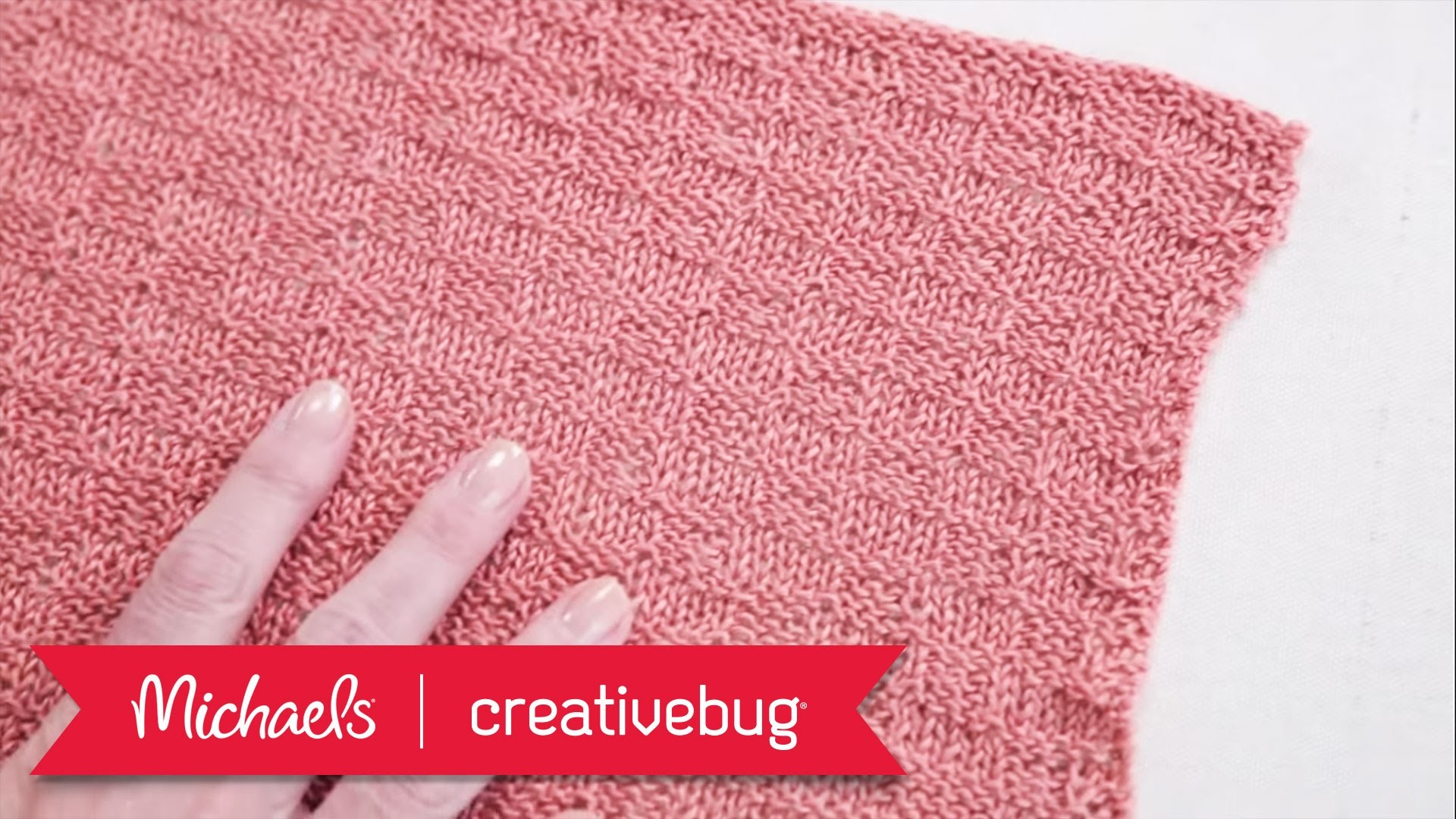 How to Knit Dishcloths | Michaels