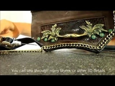 How To: Leather Sewing Awl
