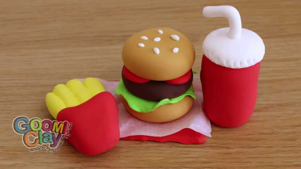 How to make a Burger with Goomi-Clay