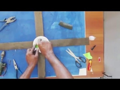 How to make a helicopter with motor at home