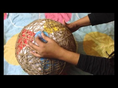 How to make a lampshade, lanterns, and yarn globes. . . .