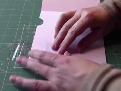 How to make a mechanical slider card