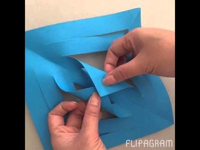 How to make a paper parol