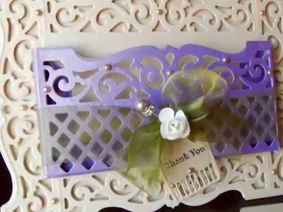 How to Make A Pocket Card featuring Spellbinders Amazing Paper Grace Dies