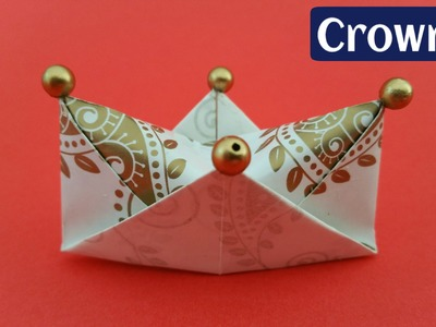 How to make a simple and easy Paper 'Royal Crown
