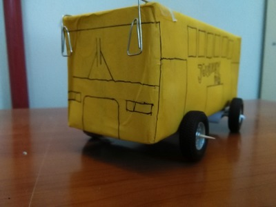 How to make a toy bus