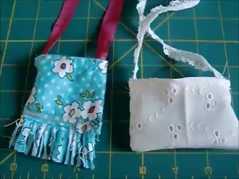 How To Make an American Girl Doll Purse (Easy)