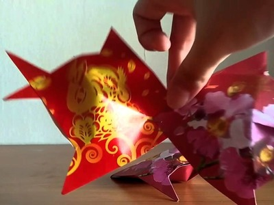 How to make Chinese fish in red packet.