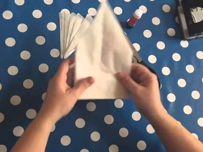 How To Make Christmas Star From Bags