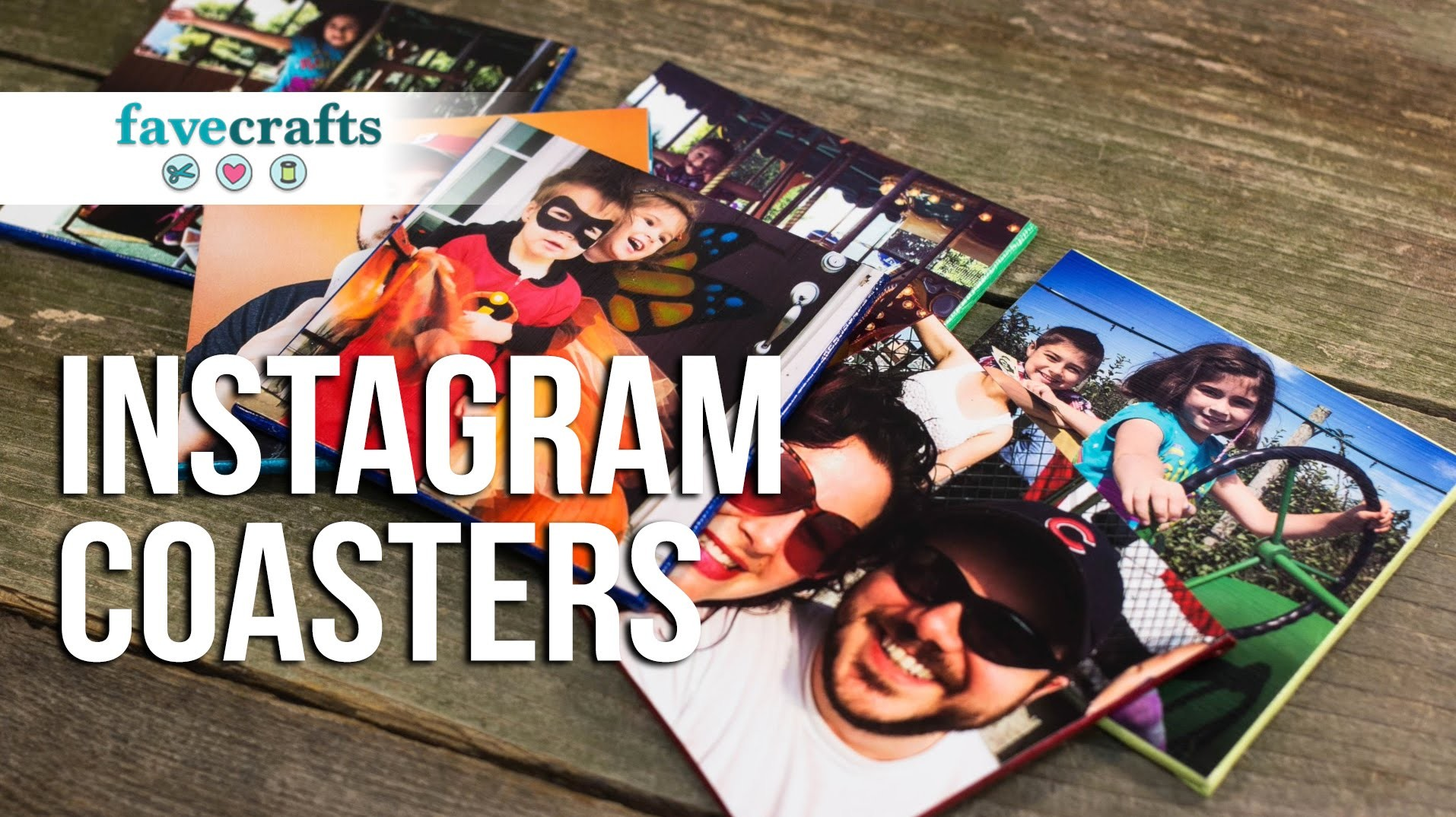 How to Make Coasters: Instagram Coasters