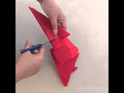 How to make decorative tails for your parol