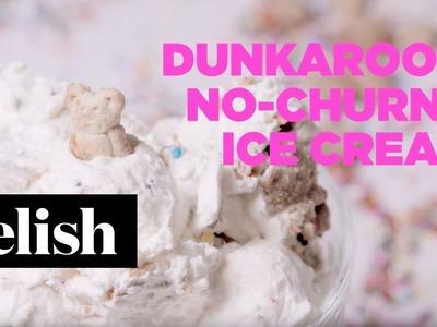 How To Make DunkAroos No-Churn Ice Cream | Delish