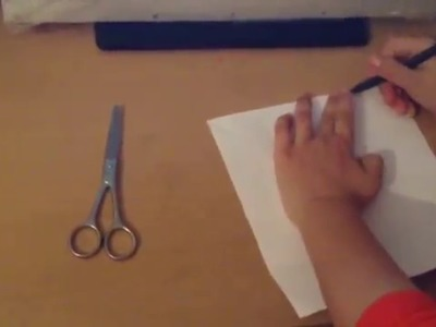 How to make easy paper house
