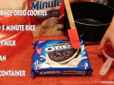 HOW TO MAKE EPIC OREO RICE!