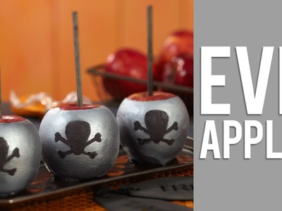 How to Make Evil Halloween Candy Apples