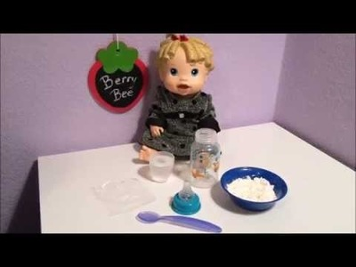 How to make fake milk for your dolls!