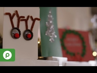 How To Make Handmade Christmas Cards from Publix