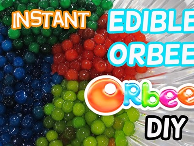 How to Make Instant Edible Orbeez.Easy by Creative World