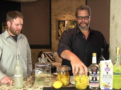 How to make Limoncello from the Cocktail Dudes