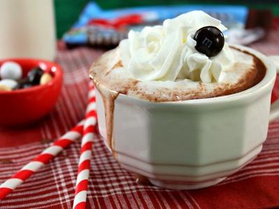 How to Make M&M's® Hot Chocolate