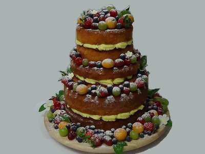 How to make naked celebration cake