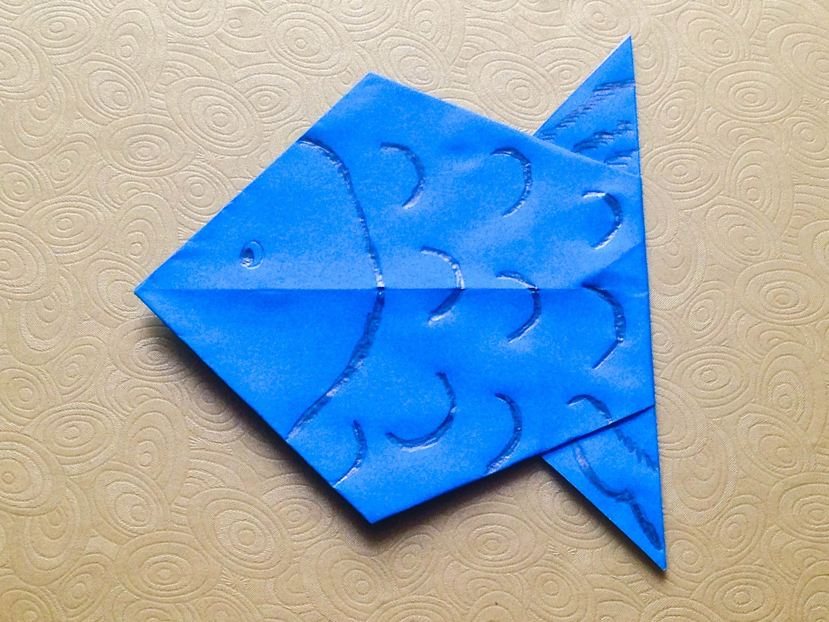 How To Make Origami Fish Easy For Beginners