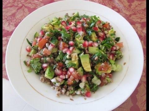 How To Make Roasted Buckwheat. Salad. Gluten Free Tabouleh. Recipe#68