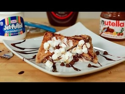How to Make S'mores French Toast | Eat the Trend