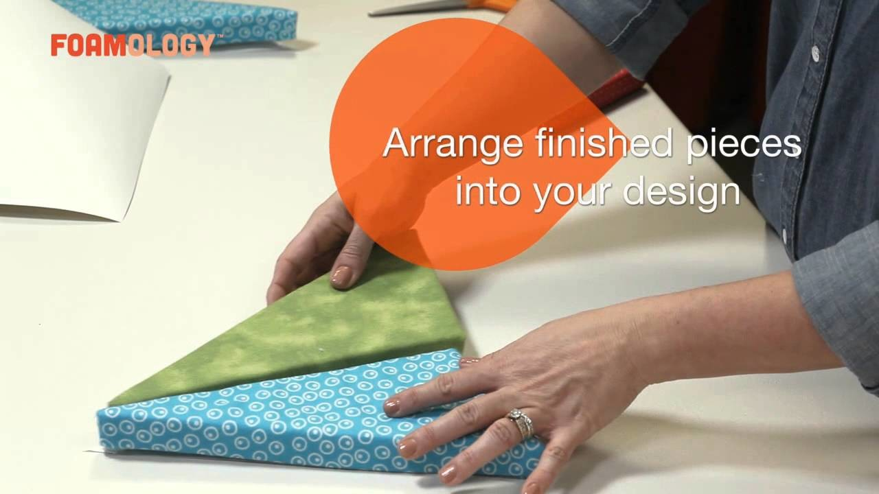 How to Make soft wall art for a kid's room with Foamology Design Foam