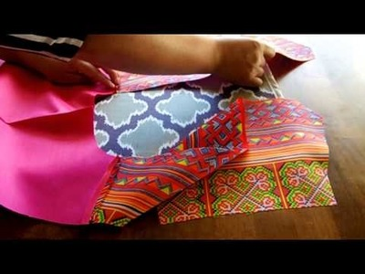 How to sew a hmong vest part 1 of 2
