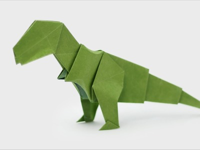 Origami Dinosaur - T-Rex - How to make an Origami Dinosaur easy step-by-step