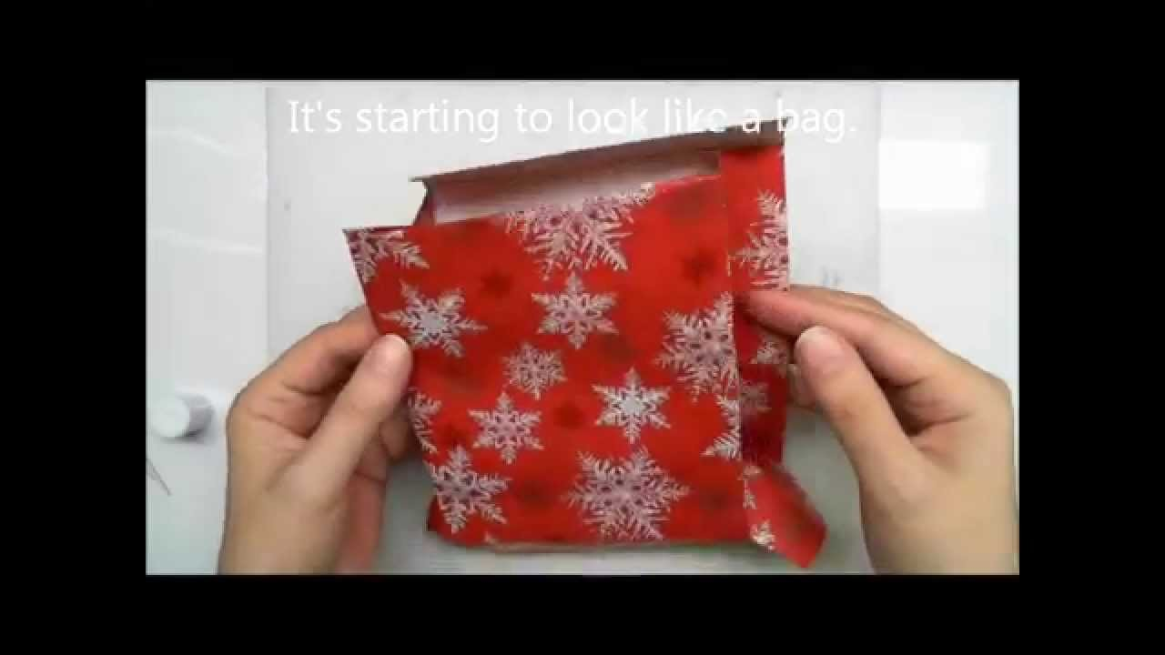 Paper Crafts - How to Make a Gift Bag
