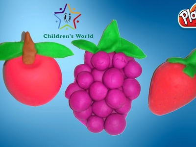 Play Doh Fruits - How to Make Play Doh Fruits