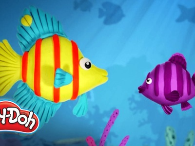 Play-Doh | 'How to Build a Fish!' Fast Build Demo
