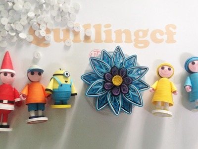 Quilling Tutorial Box - How to make Quilling Box
