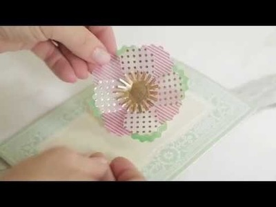 Vibrant Vellum Embellishments How To Make Flowers Video