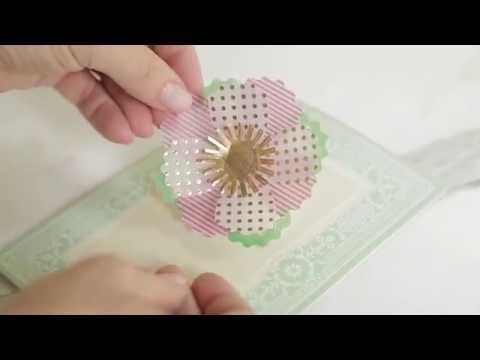Vibrant Vellum Embellishments How To Make Flowers Video