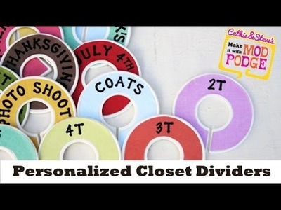 Closet Dividers DIY - Great for the Nursery or Kids Room!