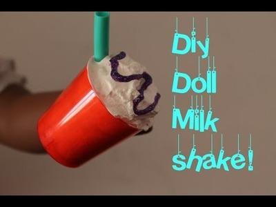 DIY American Girl Doll Milkshake