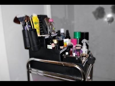 DIY Beauty.makeup Shelf