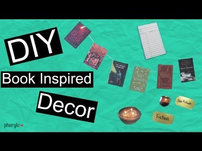 DIY Book Inspired Decor
