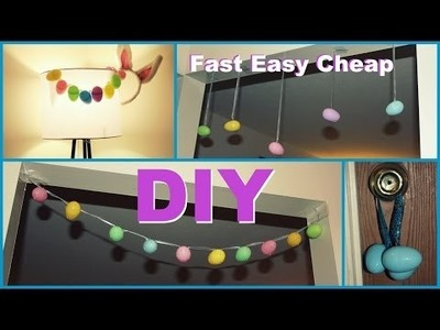 DIY Easter Decorations - Easy. Fast. Cheap.