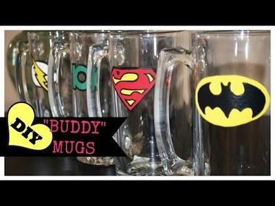 DIY Gifts for Him - Buddy Mugs