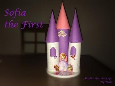 DIY: How to make Princess Sofia Castle | Kids craft | Paper Craft .