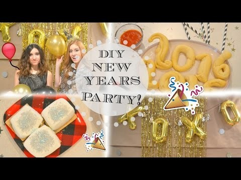 DIY New Years Eve Party: Snacks, Decor, and an Outfit Idea!