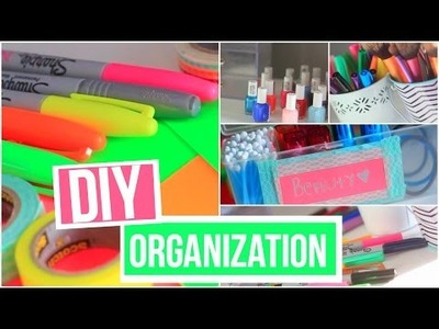 DIY ORGANIZATIONAL ROOM DECOR!!