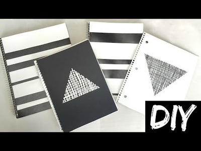 DIY School Supplies   Easy DIY Notebooks   Back to School
