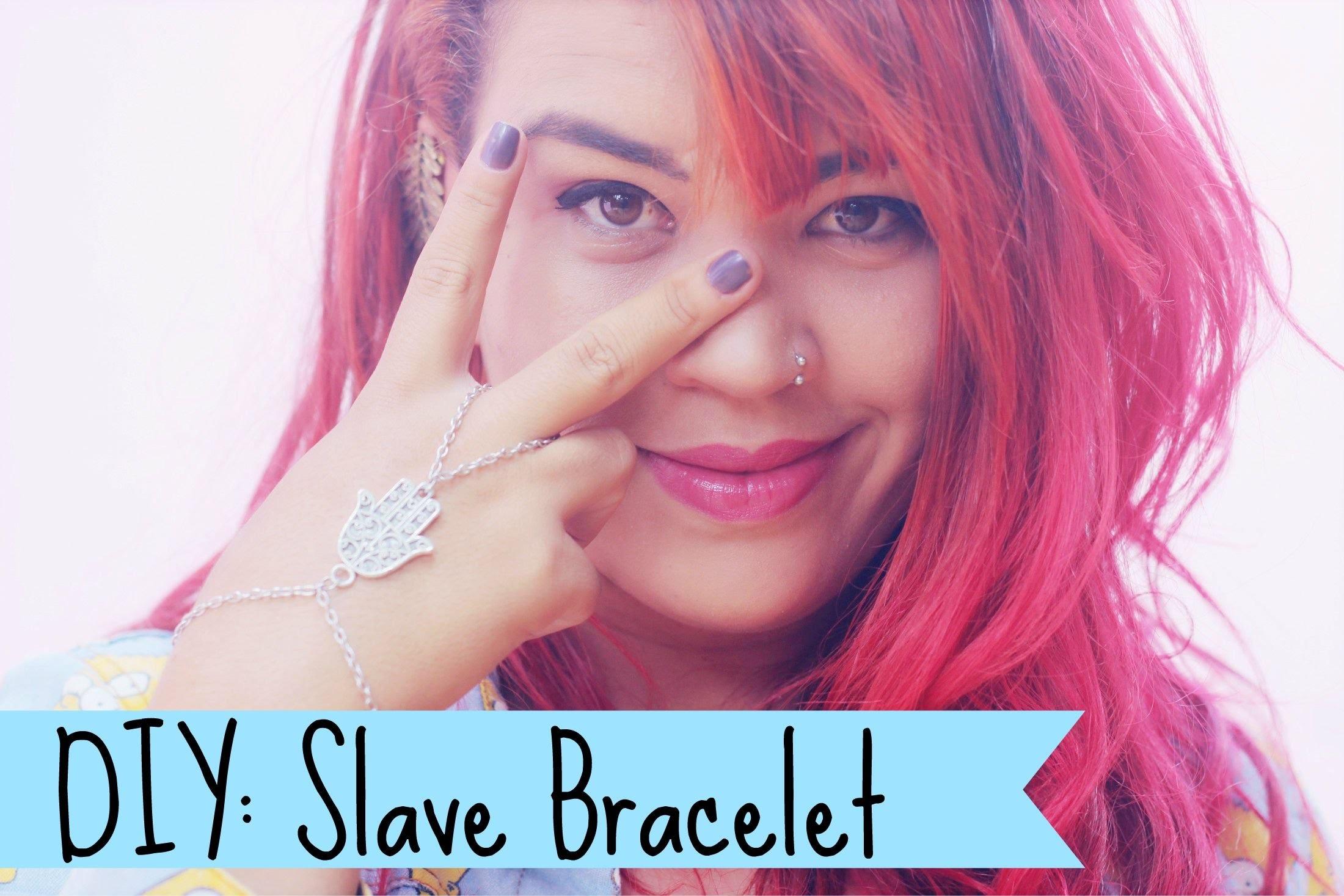 DIY: Slave Bracelet - Pulseira da Jade
