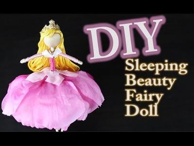 DIY Sleeping Beauty Doll - How to make a Sleeping Beauty Fairy Doll